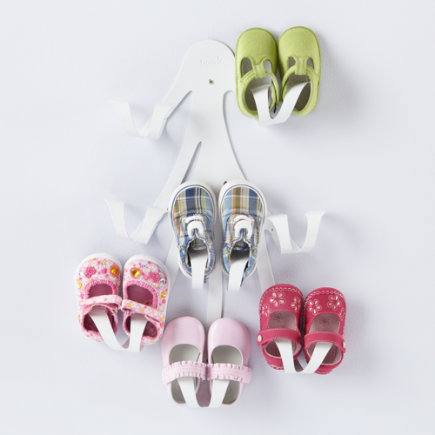 Kids Storage: Kids Shoe Wall Hook - Curl Up Wall Hook