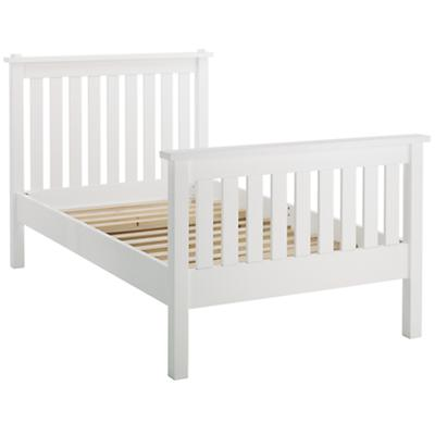 Twin Simple Bed (White)