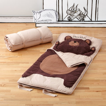 Personalized Bear Sleeping Bag