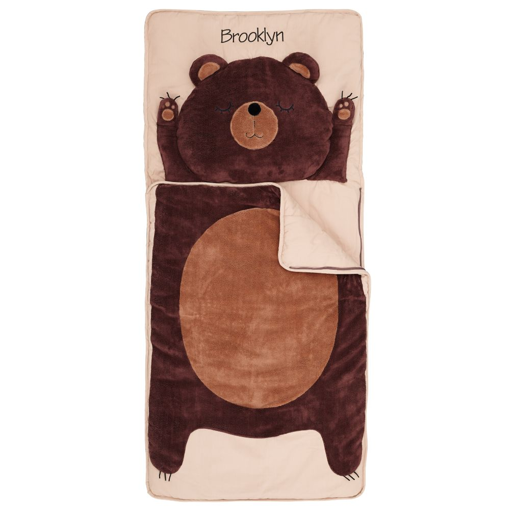 Personalized How Do You Zoo Sleeping Bag (Bear)