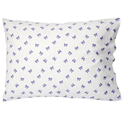 Candy Bow Pillowcase (Lavender)