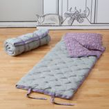 Flower Bed Sleeping Bag (Lavender)