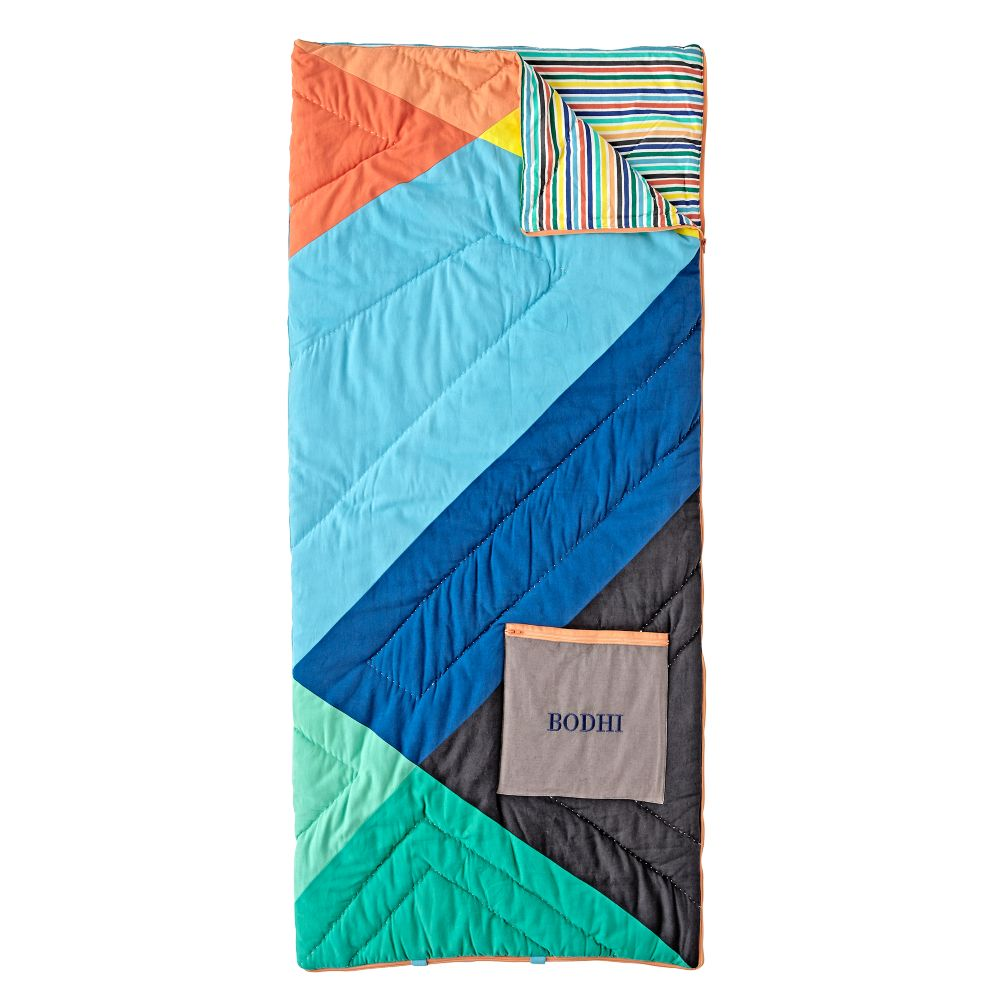 Geo Pop Personalized Sleeping Bag