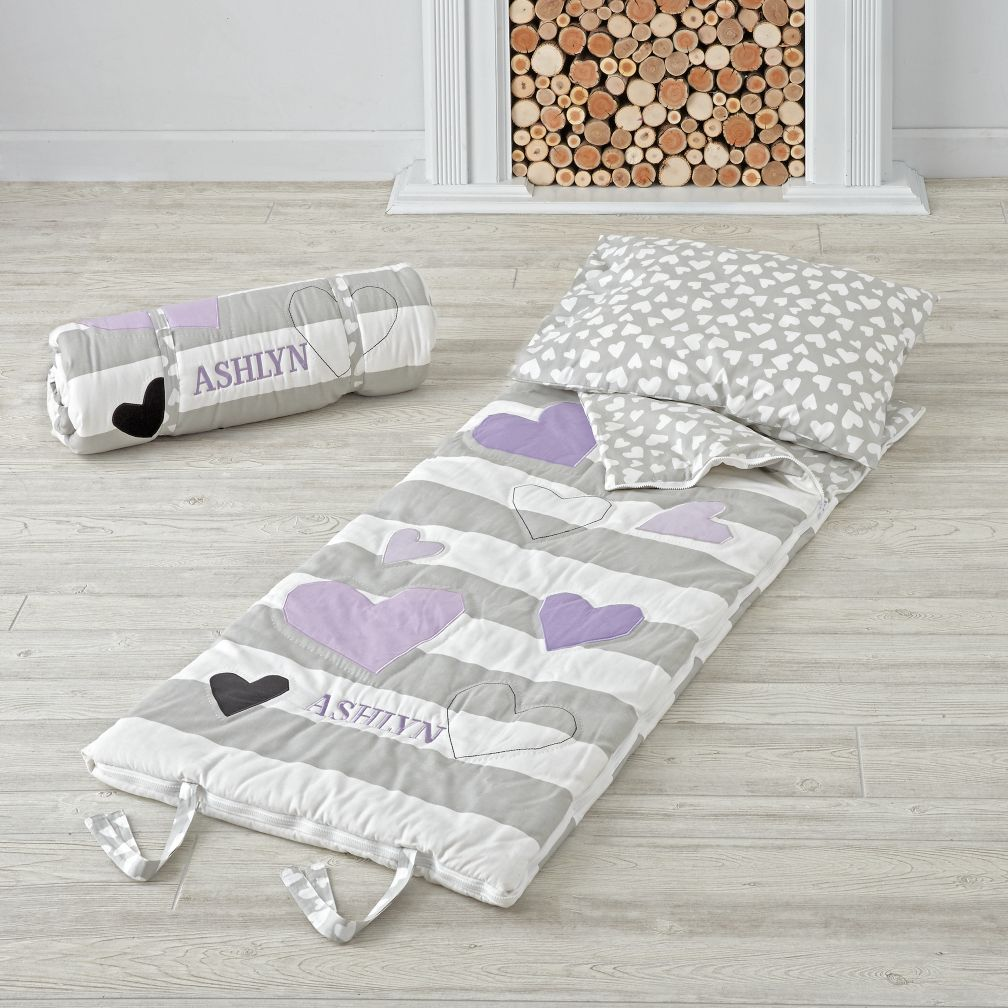 Hearts and Stripes Sleeping Bag