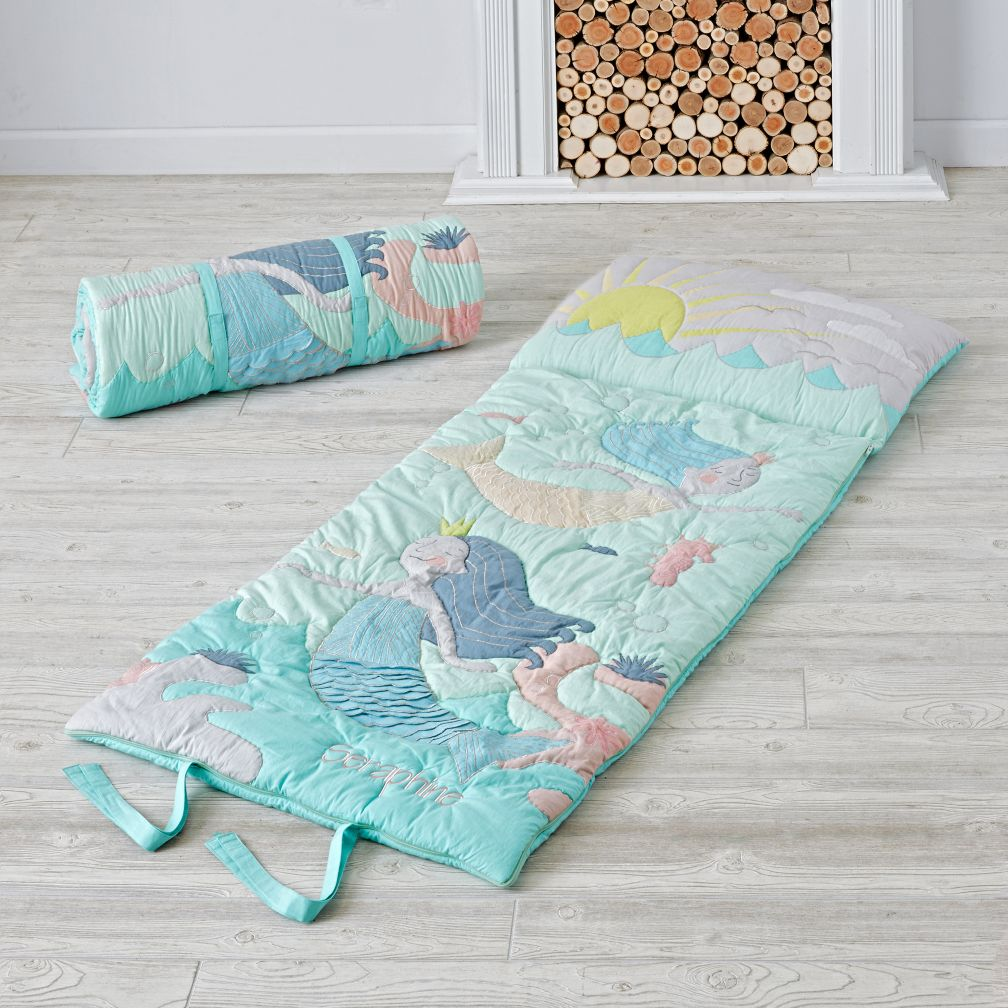Multi Mermaid Myth Kids Sleeping Bag The Land Of Nod
