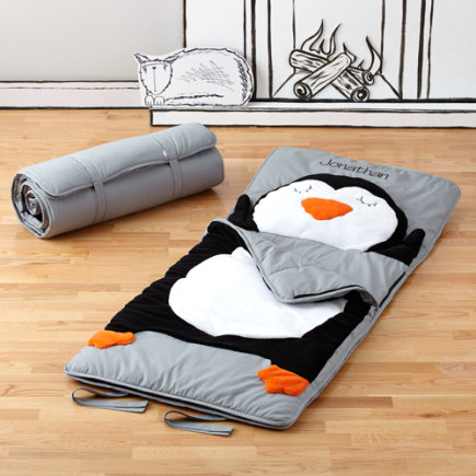 Personalized Penguin Sleeping Bag