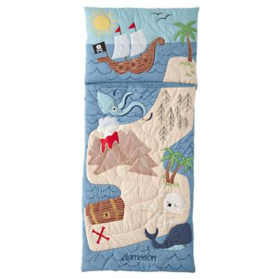 Pirate Island Personalized Sleeping Bag