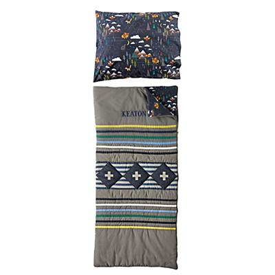 Wildwood Grey Personalized Sleeping Bag and Pillowcase
