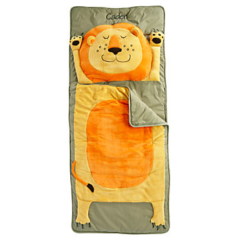 Personalized How Do You Zoo Sleeping Bag (Lion)