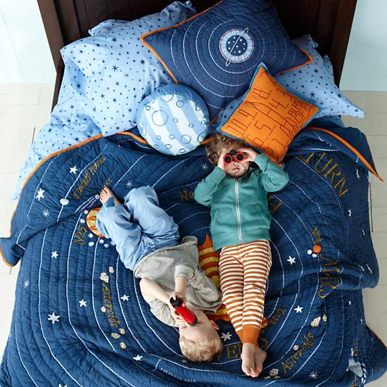 Kids' Throw Pillows: Kids Space Ship Throw Pillow | The ...