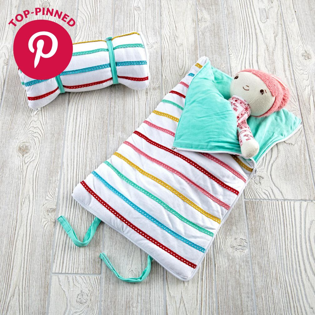 Sparkle Bright Doll Sleeping Bag
