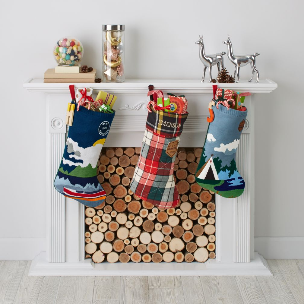 Camp Christmas Stocking Collection
