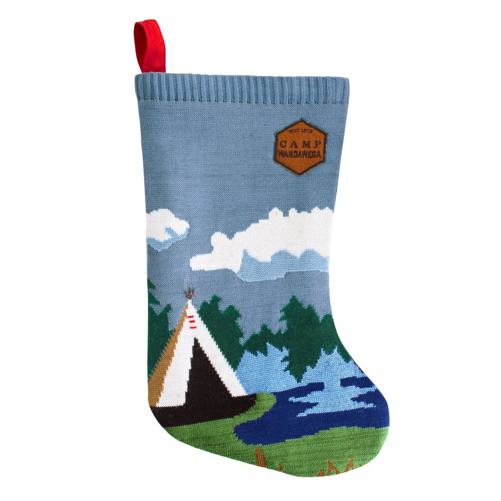 Camp Christmas Stocking (Teepee)