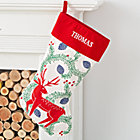Festive Folklore Personalized Deer Stocking