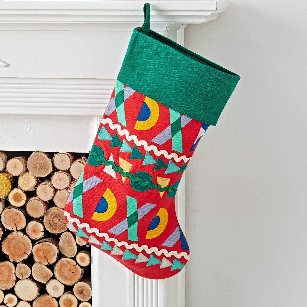 Good Cheer Green Stocking