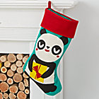 Merry Mascot Panda Stocking