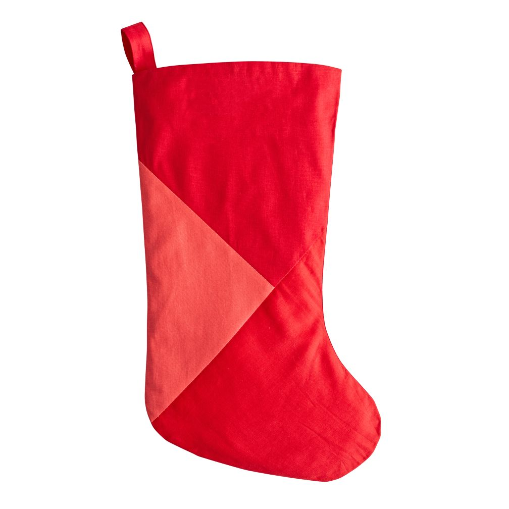 Merry Mod Stocking (Red)