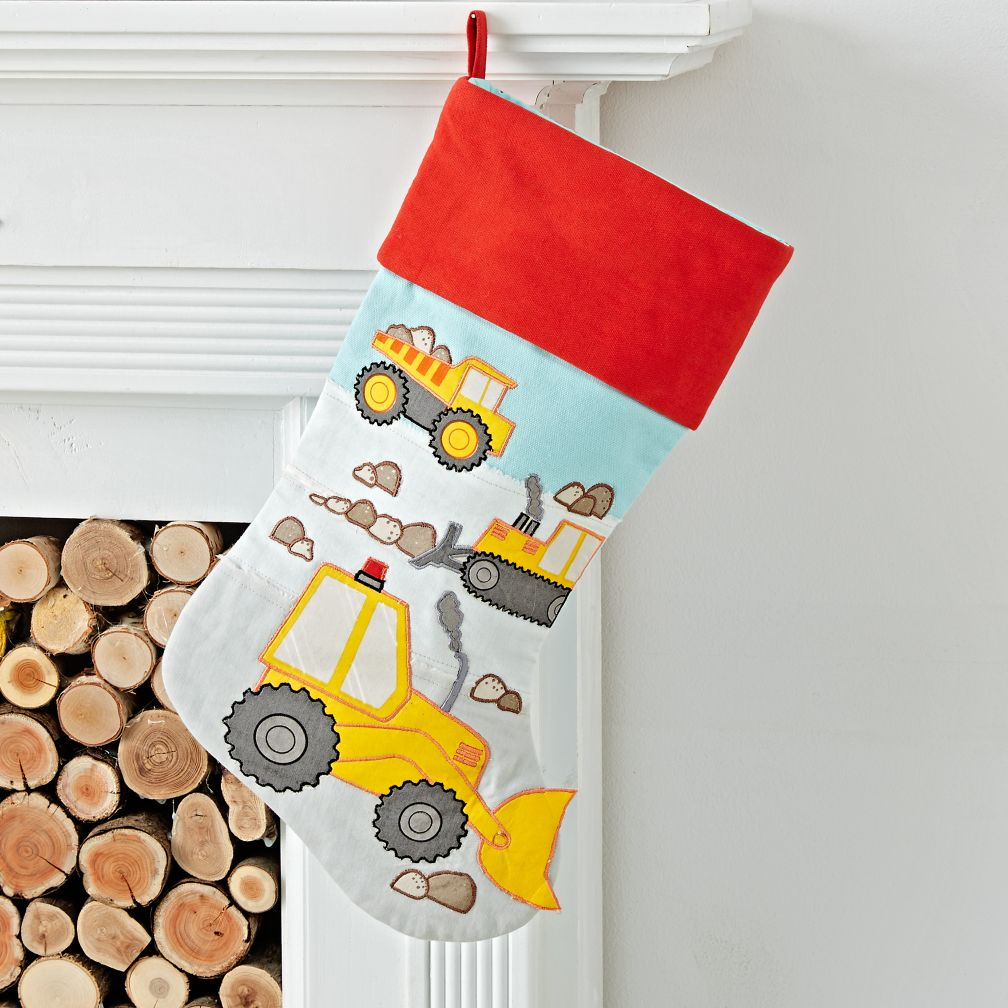 Picture Perfect Construction Stocking