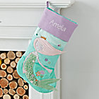 Picture Perfect Personalized Mermaid Stocking