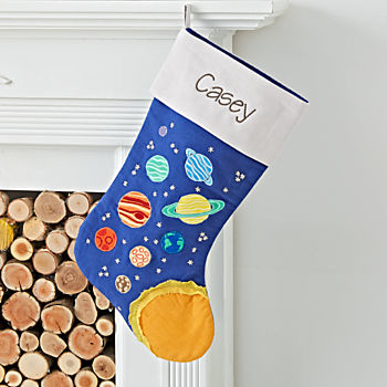 Picture Perfect Personalized Space Stocking