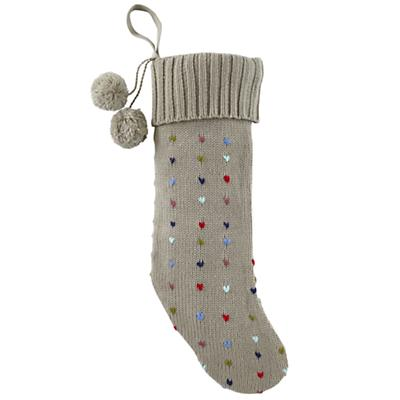 Pick Stitch Stocking