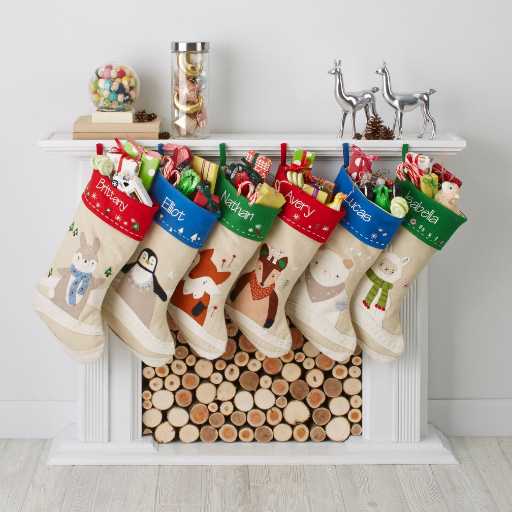 Snowy Neighbor Stocking Collection