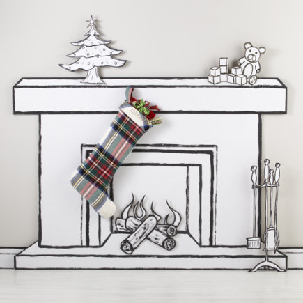 Christmas Stockings: Tartan Plaid Stocking - Tartan Plaid Stocking