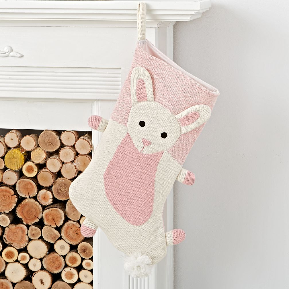 Winter Woodland Bunny Stocking