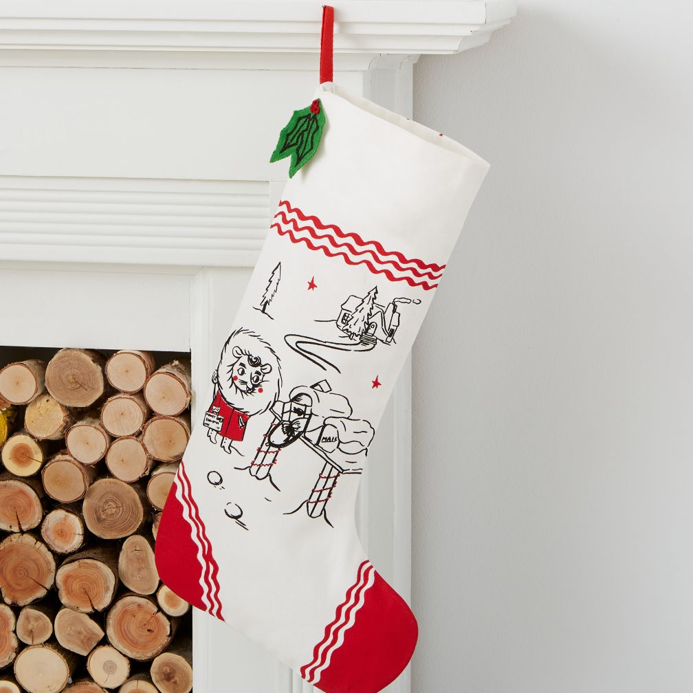 Yuletide Spirit Mouse Stocking