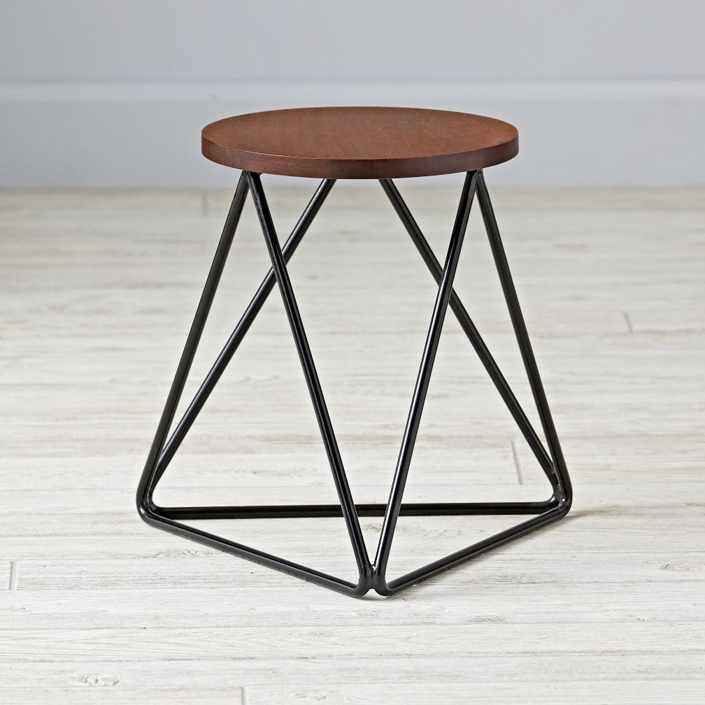 Linear Stool (Black)
