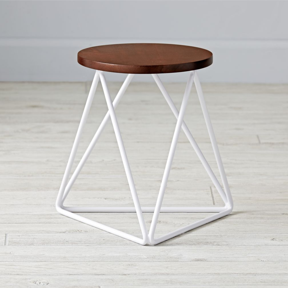 Eric Trine Linear White Stool