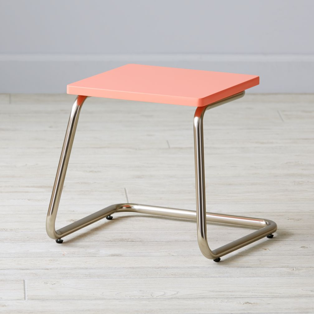 Outline Stool (Pink)