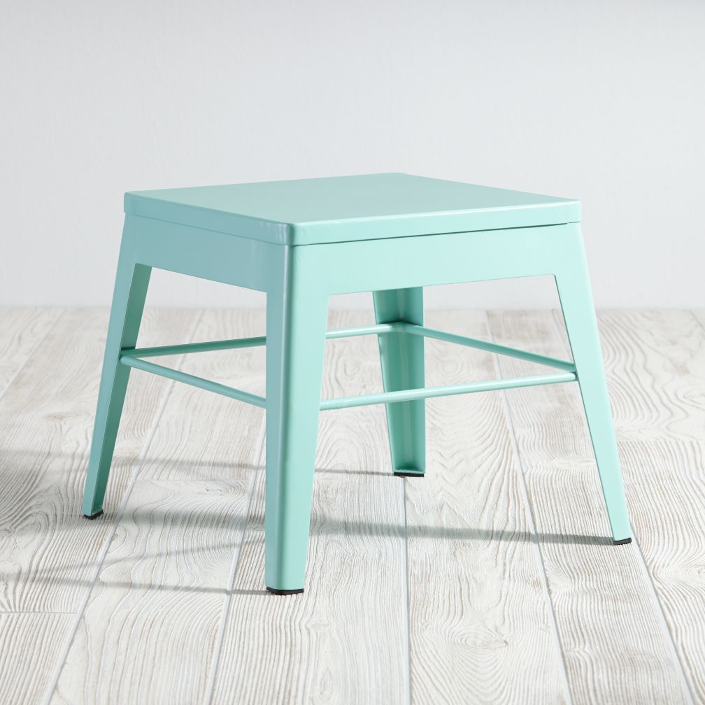 Squared Up Stool (Mint)