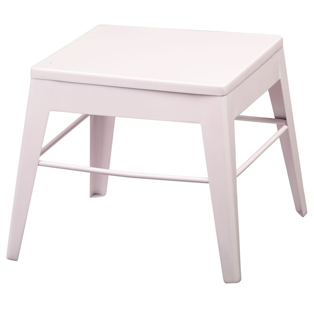 Pink Squared Up Stool