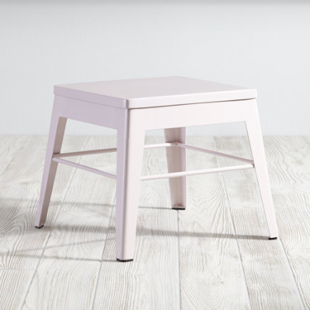 Squared Up Step Stool (Pink) - Pink Squared Up Stool