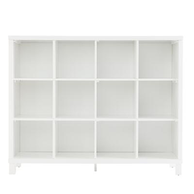 Cubic Tall Bookcase (White, 12-Cube)