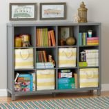Cubic Bookcase (Grey, 12-Cube)