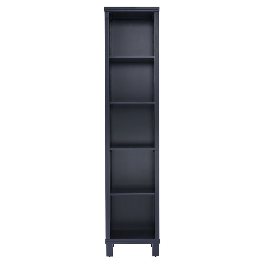 Cubic Tall Bookcase (Midnight Blue, 5-Cube)