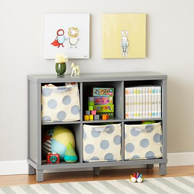 Kids Storage Solution | Cubic Bookcase at The Land of Nod
