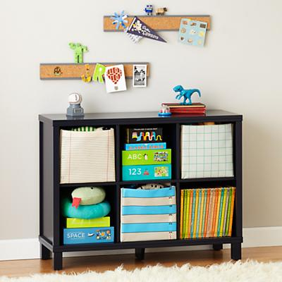 Cubic Bookcase (Midnight Blue, 6-Cube)
