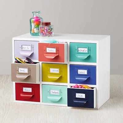 Color Reference Drawers