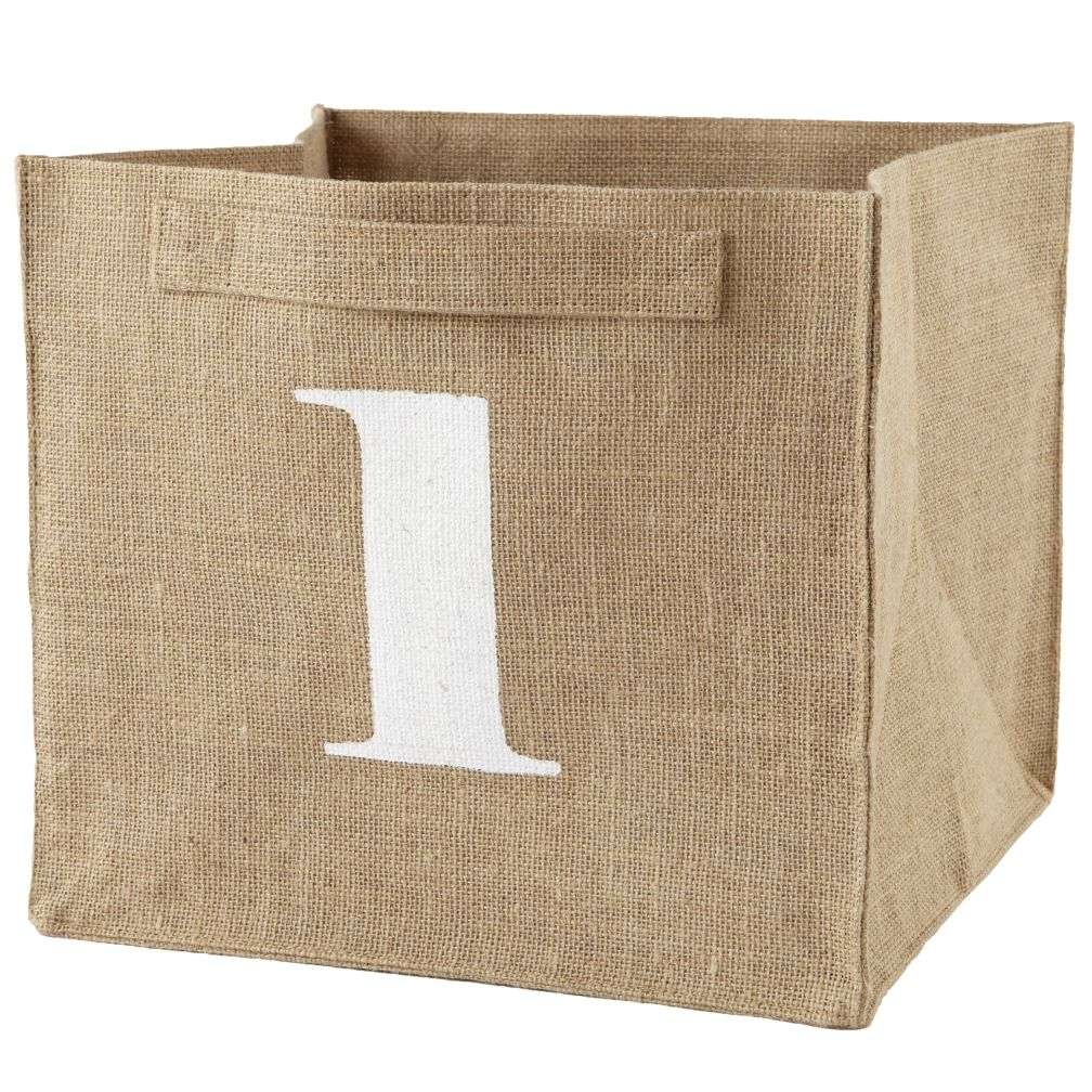 1 Store By Numbers Cube Bin