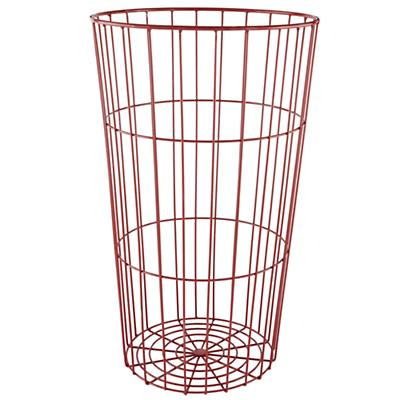 Flea Market Wire Ball Bin (Red)