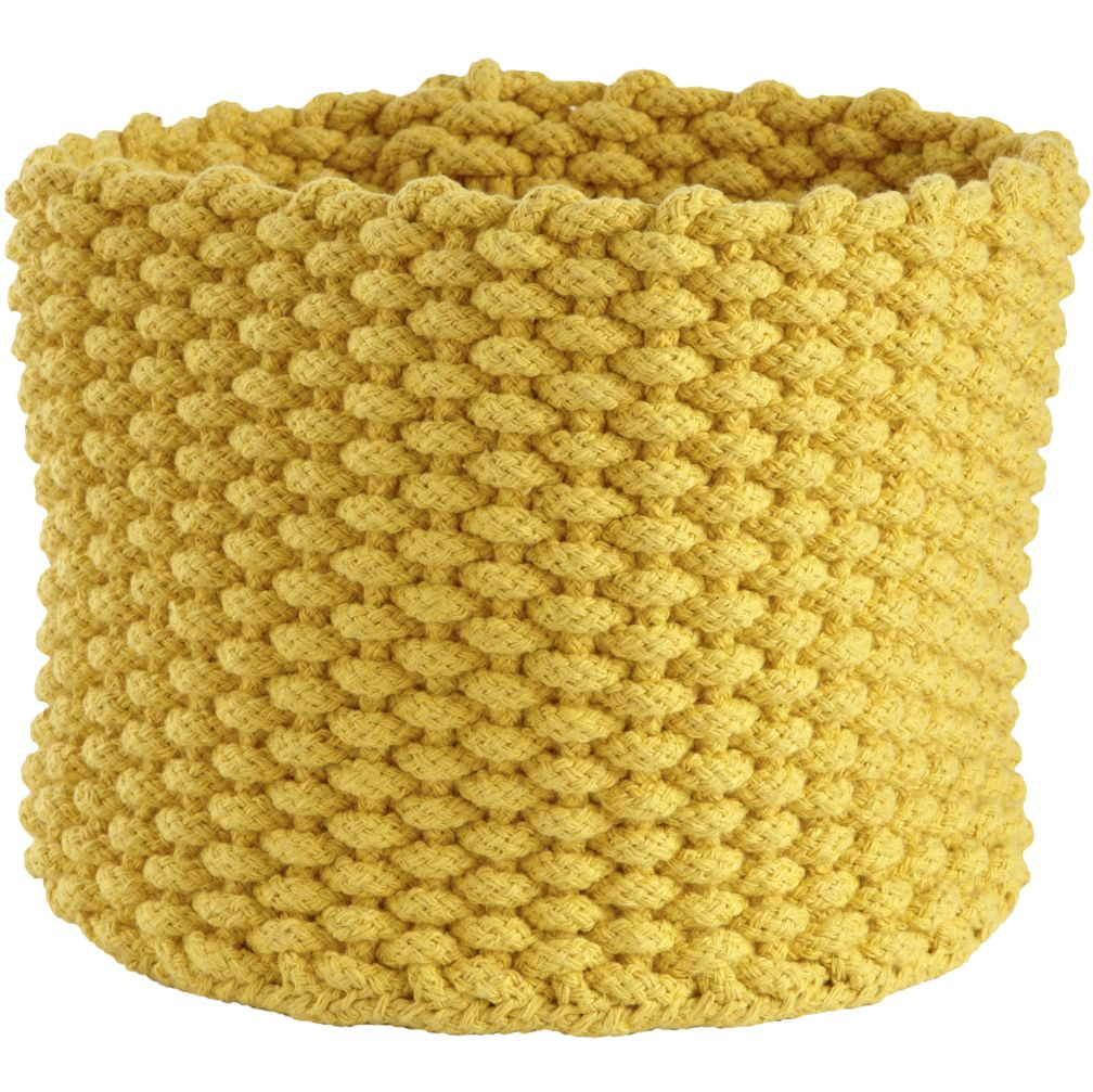 Kneatly Knit Storage Bins (Yellow)