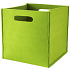 Green Once More with Felting Cube Bin