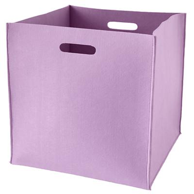 Once More with Felting Floor Bin (Purple)