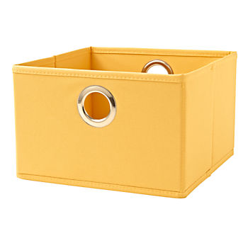 I Think I Canvas Light Yellow Wide Drawer
