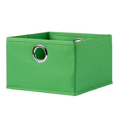 I Think I Canvas Wide Drawer (Bright Green)