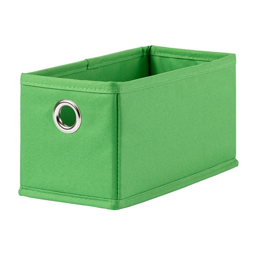 I Think I Canvas Narrow Drawer (Bright Green)