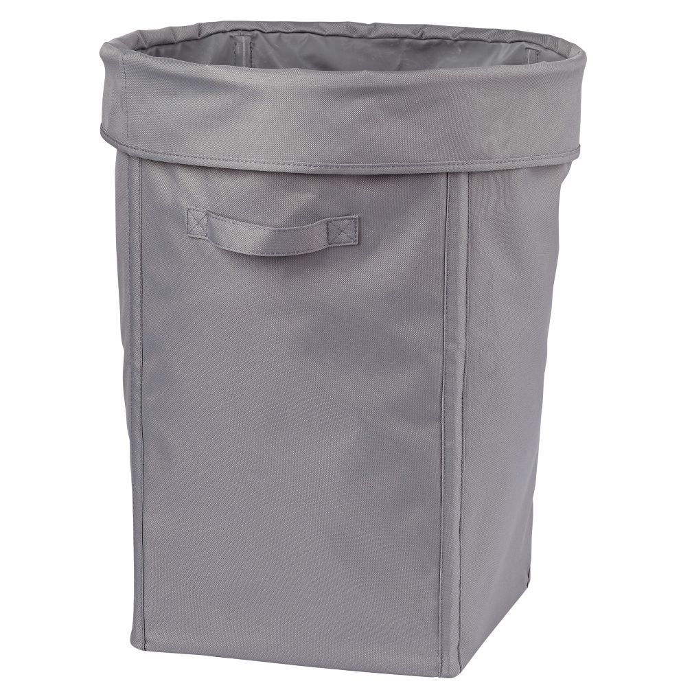I Think I Canvas Hamper (Grey)